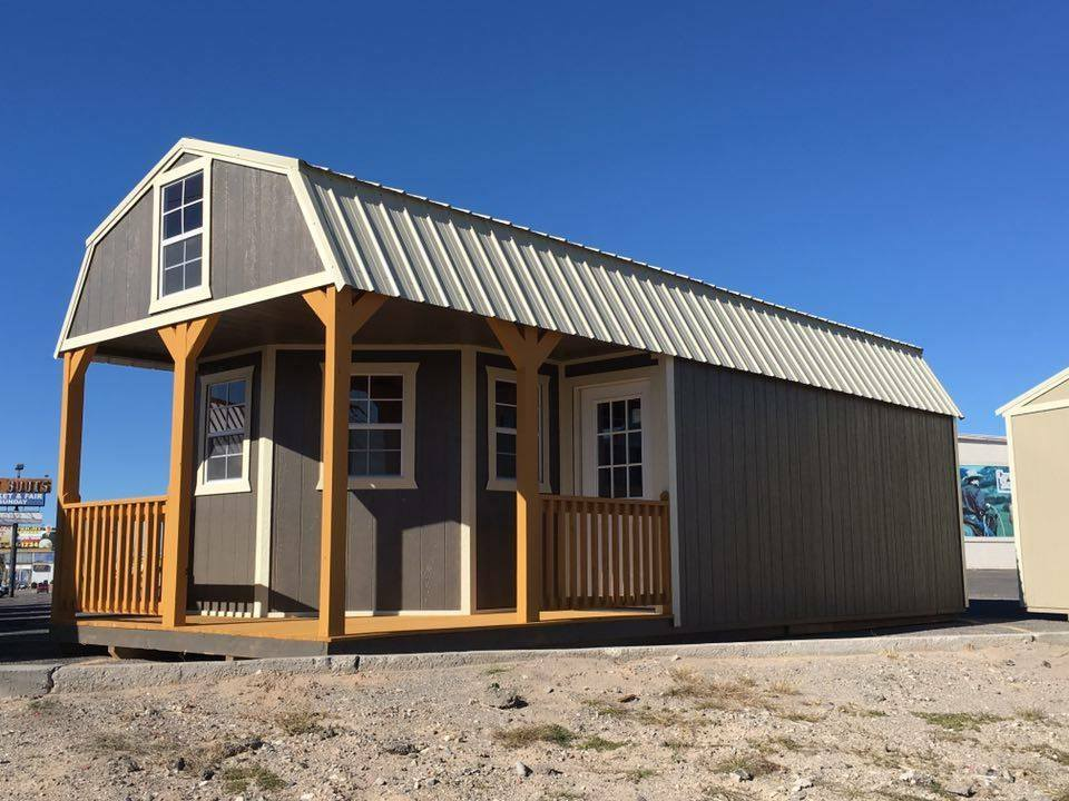 Lofted Sheds in Brandon